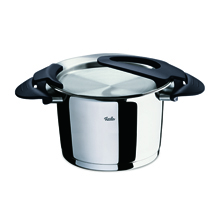 INTENSA BLACK HIGH STEW POT 20CM 4.1LTR